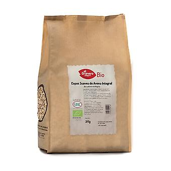 Soft flakes of organic whole oats 3 kg