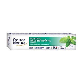 Organic fresh mint breath toothpaste 75 ml