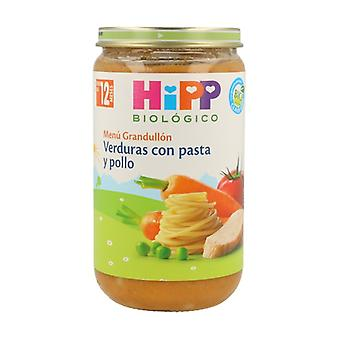 Vegetables with Pasta and Chicken Pot (12 months) 250 g