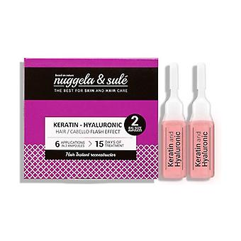 Pack 2 Keratin Ampoules 2 ampoules of 10ml