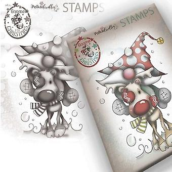 Polkadoodles Clear Stamps - Gnome Let's Go