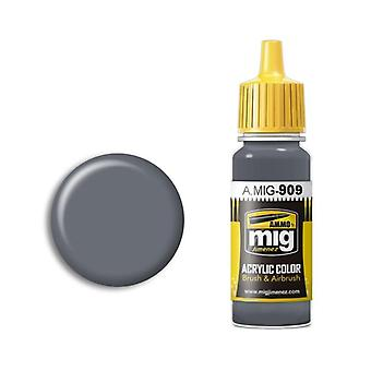 Ammo by Mig Acrylic Paint - A.MIG-0909 Grey Light Base (17ml)