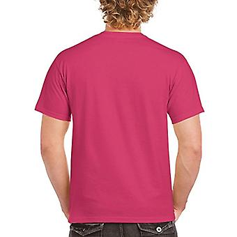 Gildan Men's G2000 Ultra Cotton Adult T-Shirt, 2-Pack, Heliconia, Large
