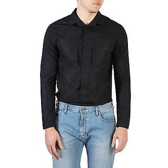 Armani jeans 7v6c47 men's camicia a maniche lunghe