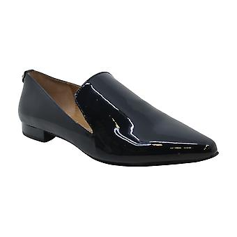 Calvin Klein Womens Elin Patent Closed Toe Loafers