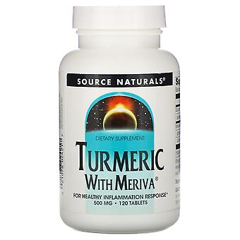 Source Naturals, Turmeric with Meriva, 500 mg, 120 Tablets