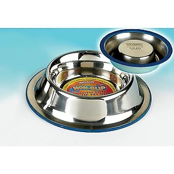 Classic Super Prem Stainless Steel Non Slip Non Tip Dish - 1000ml (270mm Diameter)