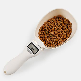 Electronic Led Digital Display, Measuring Feeding Scoop For Pets