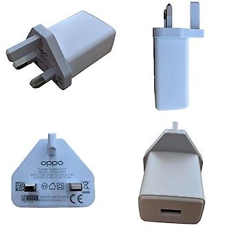 Official Oppo VOOC 10W Fast Power Adapter UK Charger - OP52JAYH