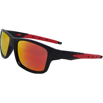 Gafas de sol Unisex Sport Kat. 3 negro/naranja (9280-C)