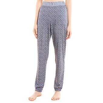 Rösch Pure 1203564-16544 Kvinnor's Tweed Fickor Pyjama Byxa