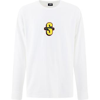 Stussy 1994529 blanc pour homme;pull en coton blanc