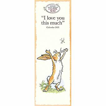 Otter House 2021 Slim Kalender-guess How Much I Love You