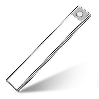 Ultratenký Pir Motion Sensor LED Pod skříň světlo, USB dobíjecí uniforma