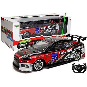 RC raceauto rood - 2,7 GHz zender
