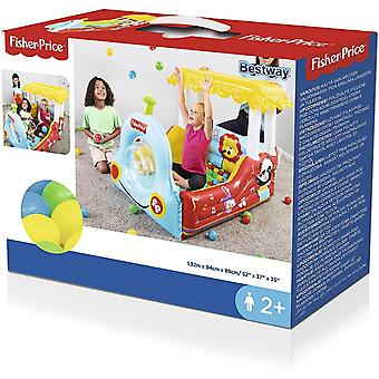 bestway fisher-price tren gonflabile play centre