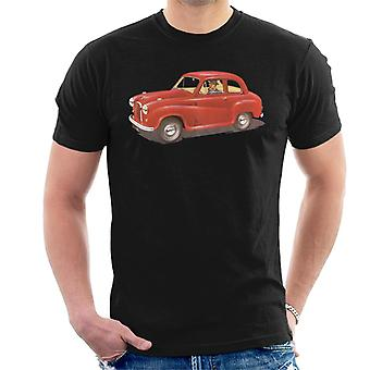 Austin A35 Red British Motor Heritage Men's T-Shirt