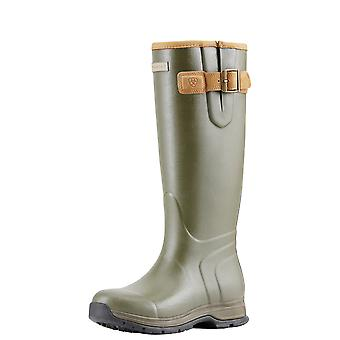 Ariat Womens Burford Izolowane Wellington Boot - Olive Green
