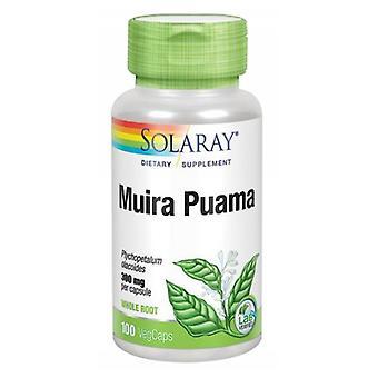 Solaray Muira Puama, 300 mgs, 100 Caps