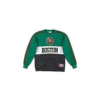 Mitchell & Ness Boston Celtics FCNKDF18025BCEKYGN universal all year men sweatshirts