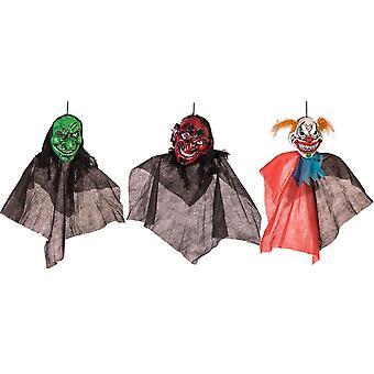 Forum-uutuudet Halloween Naamiaispukutarvikkeet - Sarja 3 kammottavaa hirviökoristeita