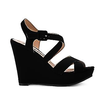 American Rag Womens Rachey Fabric Open Toe Casual Platform Sandals