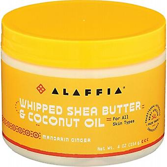 Alaffia Whipped Shea Butter & Coconut Oil Mandarin Ginger