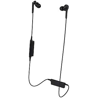 Audio-technica ath-cks550xbtbk solid bass bluetooth trådløse in-ear hodetelefoner, svart