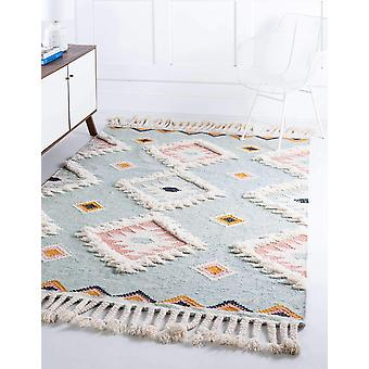 Natural Wool Boho Runner