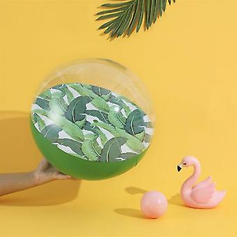 Licorne, flamant rose, kiwi, pvc transparent gonflable jouant la bille de piscine