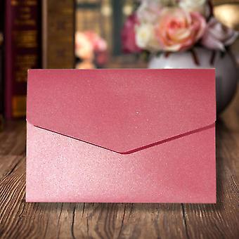 10 Azalea Pink A6 DIY Pocketfold Convites