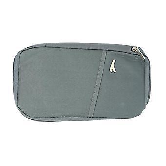 Multifunkčný pasový puzdro s peňaženkou Sivá