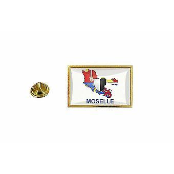 pinheiro emblema pinheiro pin-apos;s bandeira país mapa Moselle departamento Moselle
