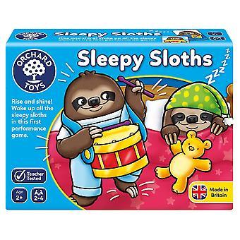 Fruktträdgård Leksaker Sömniga Sloths