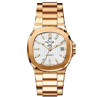GV2 Automatic Men's Potente White Dial Rose Gold Bracelet Watch