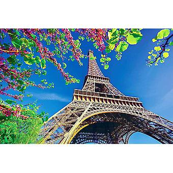 Wallpaper Mural Eiffel Tower With Spring