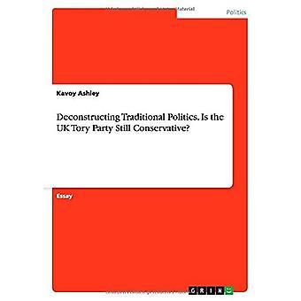 Deconstrueren van de traditionele politiek. Is de Britse Tory-partij nog steeds conservatief?