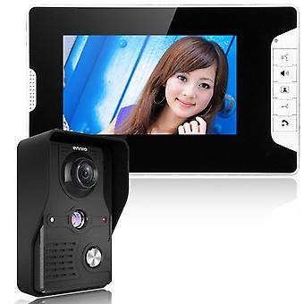 Visual Intercom Doorbell, Wired Video Door Phone System Indoor Monitor