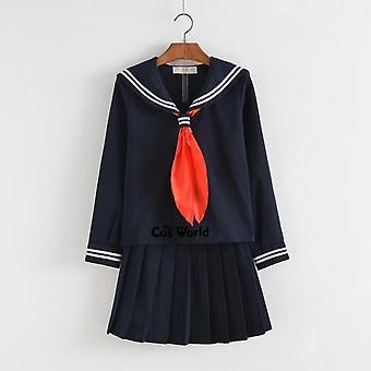 Letní škola Uniforma Studenti Cloth Topy Sukně Anime Sailor Oblek