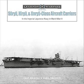 Soryu, Hiryu ja Unryu-luokan lentotukialukset: Japanin keisarillisessa laivastossa toisen maailmansodan aikana