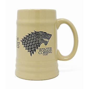 Game of Thrones House Stark Stein Mug