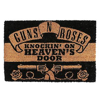 Guns N Roses Knockin Op Heavens Door Mat