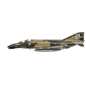 Illustration of an F-4C Phantom II of the 389th Tactical Fighter Squadron 366th Tactical Fighter Wing Da Nang Air Base South Vietnam 1968 Poster Print