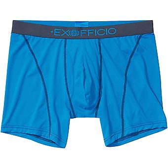 "ExOfficio Give-N-Go 2.0 Sport Mesh 6"" Boxer Briefs - Clear Blue/Navy"