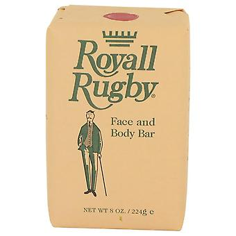 Royall Rugby Face and Body Bar Soap By Royall Fragrances 8 oz Face and Body Bar Soap