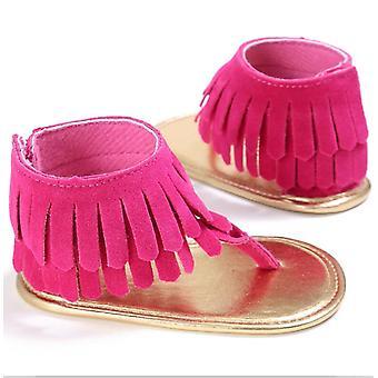 Pu Tassels Summer Infant Shoes, Newborn Baby Sandals