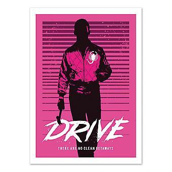 Art-Poster - Drive - 2Toast Ontwerp