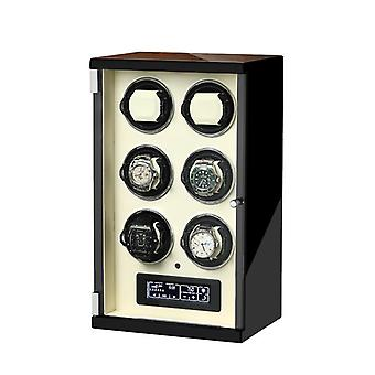 Luxury Automatic Watch Winder Box Uhrenbeweger Mechanical Display