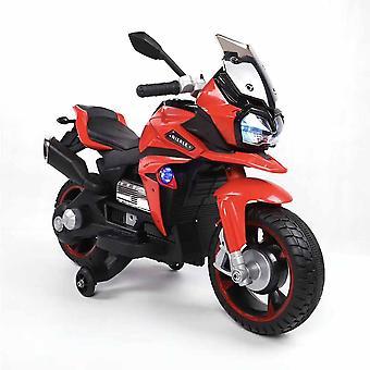 Elektryczny motocykl dziecięcy Bo Rio R800, funkcja muzyczna, koła podporowe reflektorów