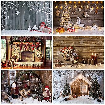 Kerst achtergronden voor fotografie (set 1)